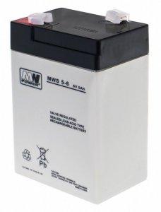 Części pojazdy akumulator 6V/5AH