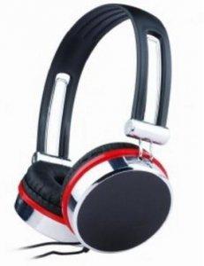 Słuchawki GEMBIRD MHS-903 (kolor czarny, kolor srebrny
