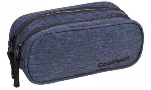 Piórnik Coolpack - clever snow - saszetka podwójna prostokątna  - a324