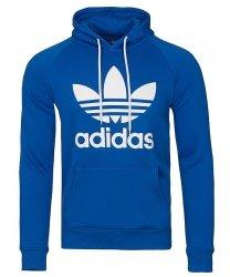 Adidas Originals niebieska bluza męska Orig 3foil Hood BR4189