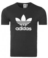 Adidas Originals czarna koszulka t-shirt męski Trefoil CW0710
