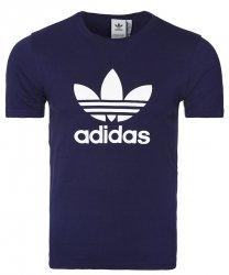 Adidas Originals granatowa koszulka t-shirt męski Trefoil CW0710