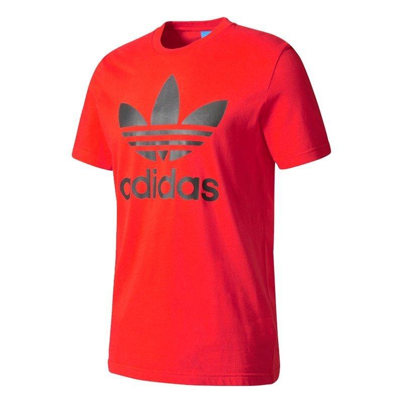 Adidas Originals czerwona koszulka t-shirt męski Orig Trefoil BK7167