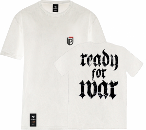 Koszulka Ready For War Biała
