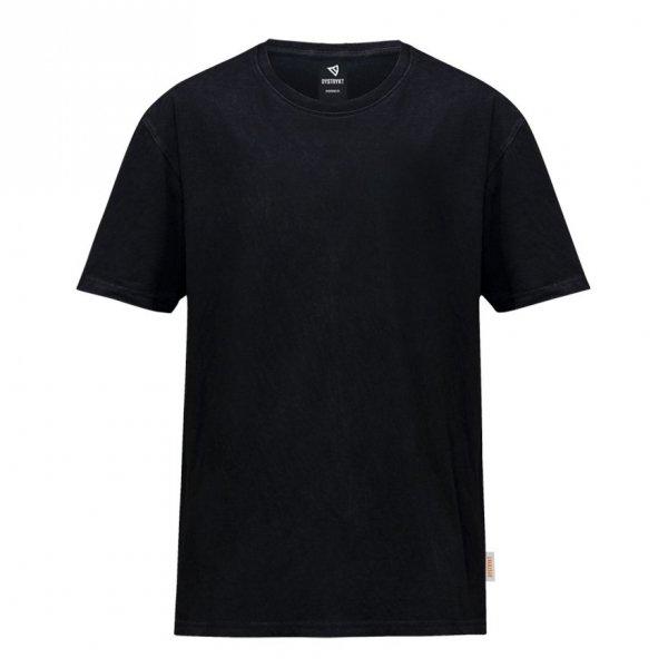 koszulka Dystrykt Basic Blank Czarna/Biała