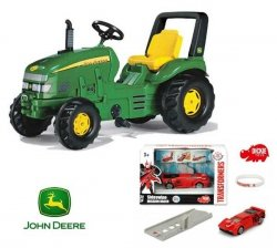 Rolly Toys John Deer X-Trac zielony