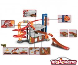 MAJORETTE Stunt Heroes Grand Set
