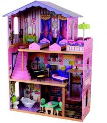 KIDKRAFT Domek dla lalek Moja Rezydencja Marzeń