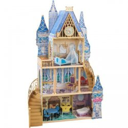KIDKRAFT Domek dla lalek Zamek Kopciuszka
