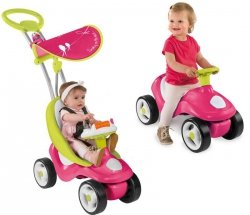 SMOBY Wózek Bubble Go 2 w 1 Różowy