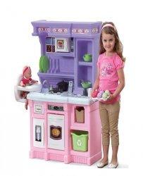 STEP2 Kuchnia z Krzesełkiem Różowa Dźwięk