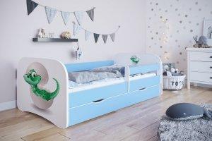 Łóżko dziecięce MAŁY DINO różne kolory 180x80 cm