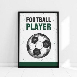 Plakat FOOTBALL PLAYER P194
