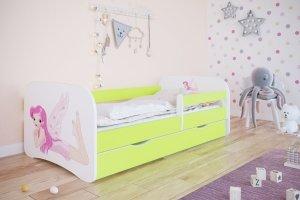 Łóżko dziecięce WRÓŻKA różne kolory 180x80 cm