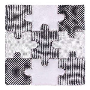 LULANDO Puzzle - Czarno-Biały