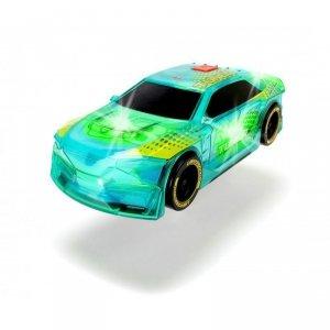 Dickie Racing - Pojazd Lightstreak Tuner ze światłem i dźwiękiem