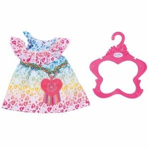Baby Born Rainbow  Leo Dress Sukienka Dla Lalki 43 cm