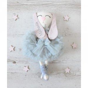 Maskotka personalizowana  króliczek baletnica Irminka