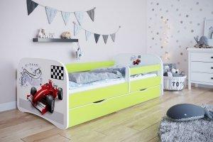 Łóżko dziecięce FORMUŁA różne kolory 180x80 cm