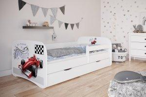 Łóżko dziecięce FORMUŁA różne kolory 160x80 cm