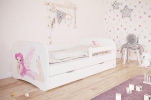 Łóżko dziecięce WRÓŻKA 160x80 różne kolory