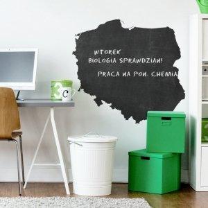 NAKLEJKA TABLICOWA MAPA POLSKI T005