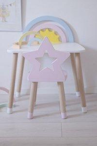 Krzesełko dziecięce gwiazdka