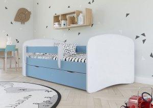 Łóżko dziecięce BABYDREAMS różne kolory 160x80 cm