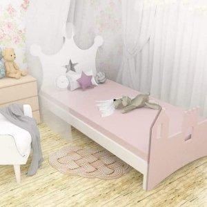Łóżko dziecięce Korona 70 x 160 cm