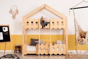 Łóżko piętrowe dziecięce DOMEK KAIKO P różne rozmiary