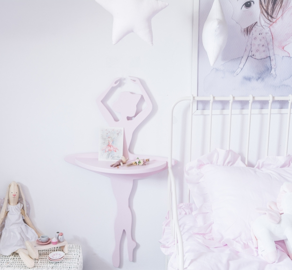 Półka dla dziecka baletnica balerina