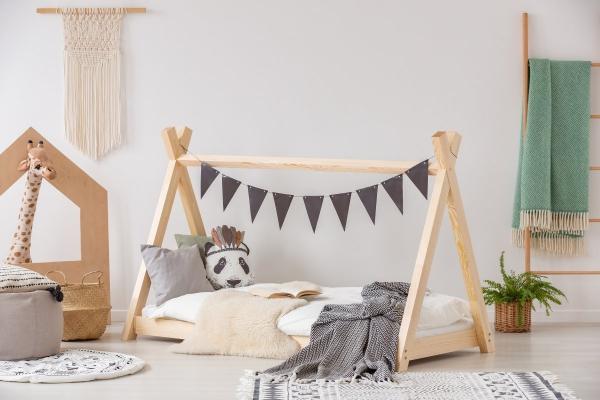 Łóżko dziecięce drewniane TIPI różne rozmiary