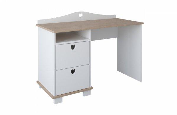 biurko-dziecięce-serca-biały-dąb