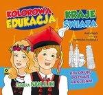 Kolorowa edukacja. Kraje świata. Naklejka