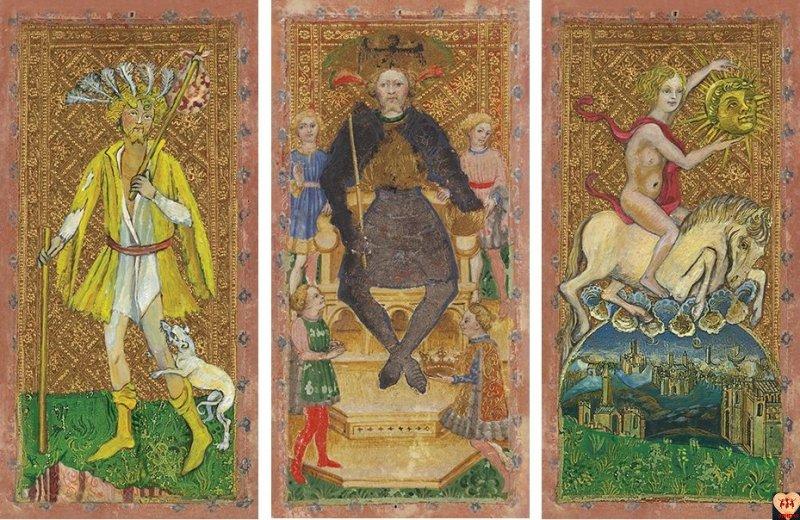 Cary-Yale Visconti Tarot 15th Century Tarocchi Deck
