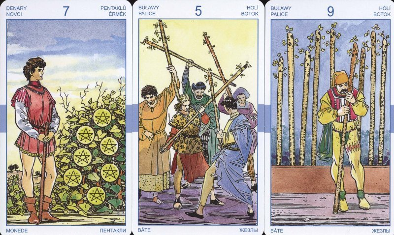 Tarot Uniwersalny (Universal Tarot) wydanie polskie