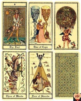 Medieval Scapini Tarot