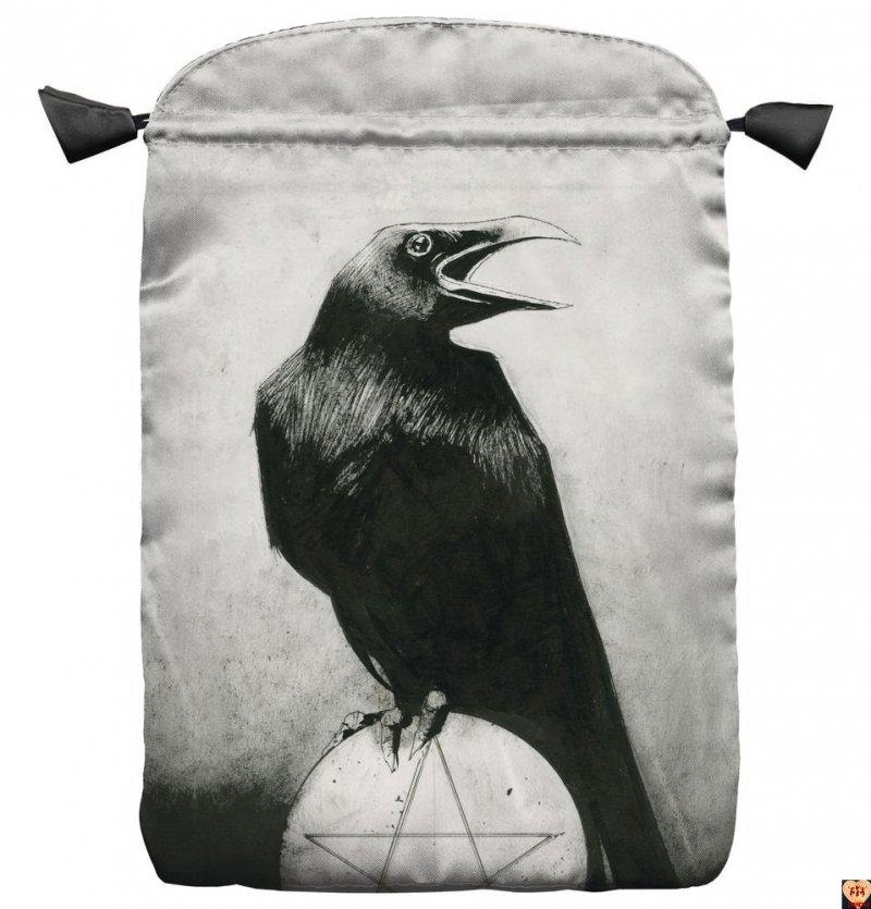 Satynowy woreczek Murder of Crows