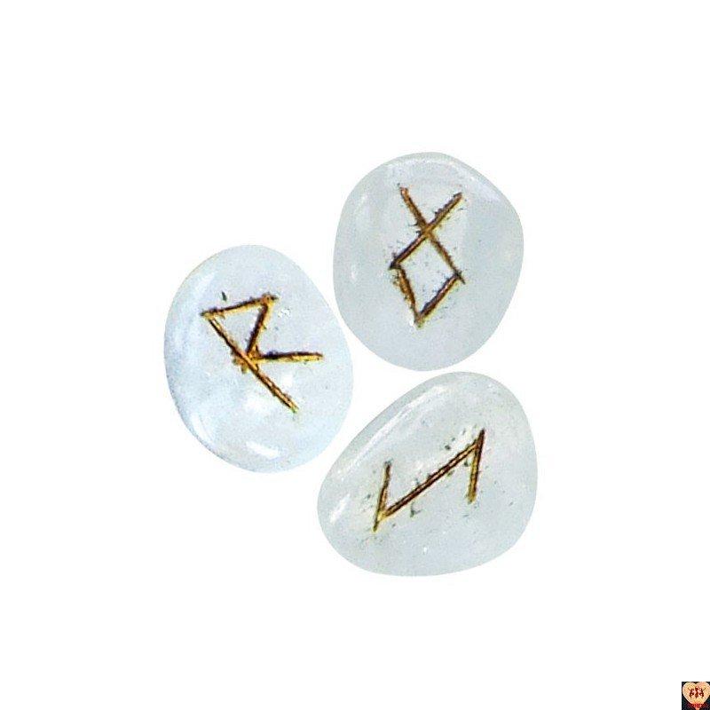 Runy kryształ górski, instrukcja po polsku (Hyaline quartz)