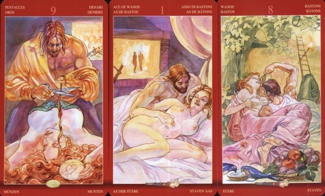 Tarot of Sexual Magic MINI instr. po polsku