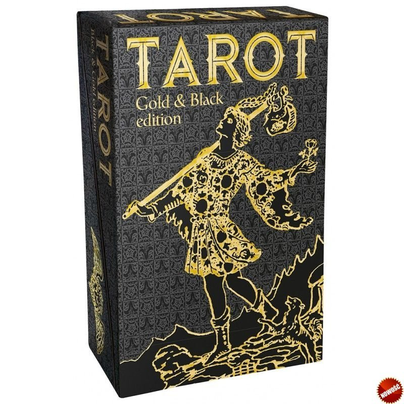 Tarot Gold and Black Edition (Rider Waite)