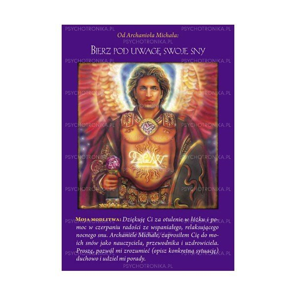 Karty Archanioła Michała + książka