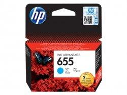 Tusz HP 655 Cyan Ink Advantage CZ110AE