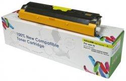 Toner Cartridge Web Yellow Oki C110/C130N zamiennik 44250721