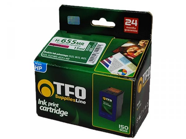 Tusz TFO H-655MR XL zamiennik do HP 655 Magenta Ink Advantage CZ111A