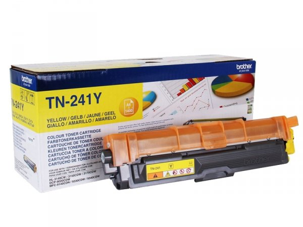 Toner Brother TN-241Y Oryginalny Yellow
