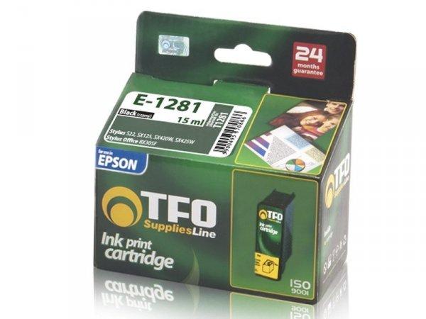 Tusz TFO E-1281 czarny zamiennik do Epson T1281 Black