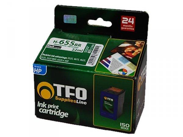 Tusz TFO H-655BR XL zamiennik do HP 655 Black Ink Advantage CZ109A