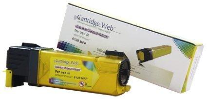 Toner Cartridge Web Yellow  Xerox 6128 zamiennik 106R01458