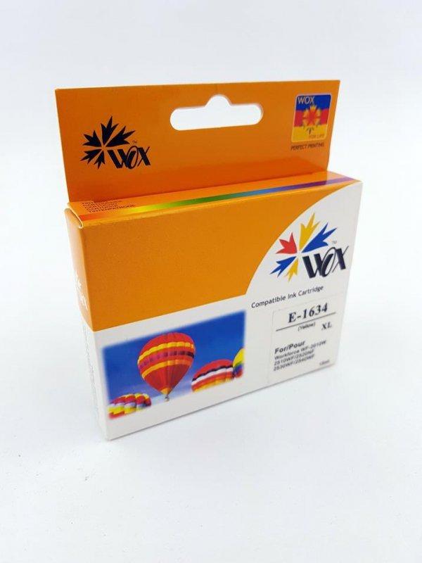Tusz Wox Yellow EPSON T1634 zamiennik C13T16344010
